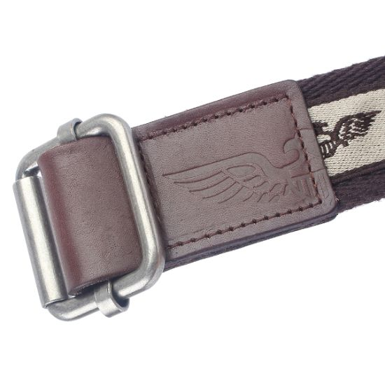 Heavy Webbing with Logo Ribbon Man Cotton Belt (SR-13964) pictures & photos