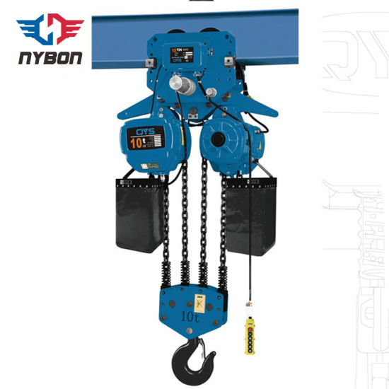 Industrial Construction Pulling 5000 Kg Electric Chain Hoist pictures & photos