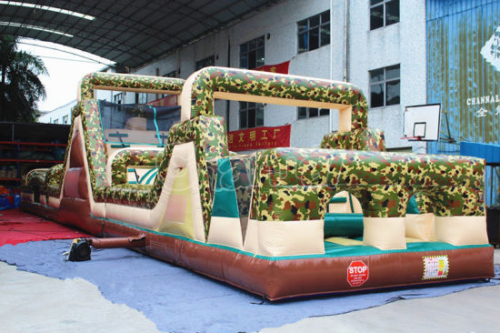 Kids Amusement Park Inflatable Obstacle Course for Outdoor (CHOB463-1) pictures & photos