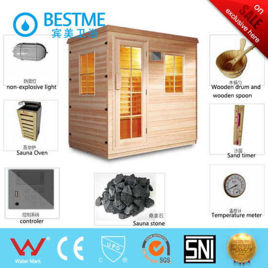 Various Sizes Multi-Functions Steam Sauna Room (BZ-5030) pictures & photos