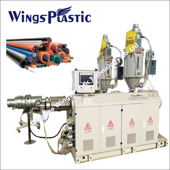Plastic PPR HDPE Pipe Machine/Plastic Corrugated Pipe Tube Machine/Plastic Pipe Production Line/Plastic Pipe Manufacturing Plant/PVC Pipe Making Machine