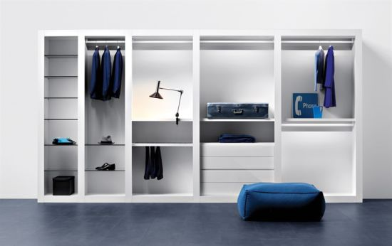 Modern Style PVC Wooden Bedroom Cabinet Closet pictures & photos