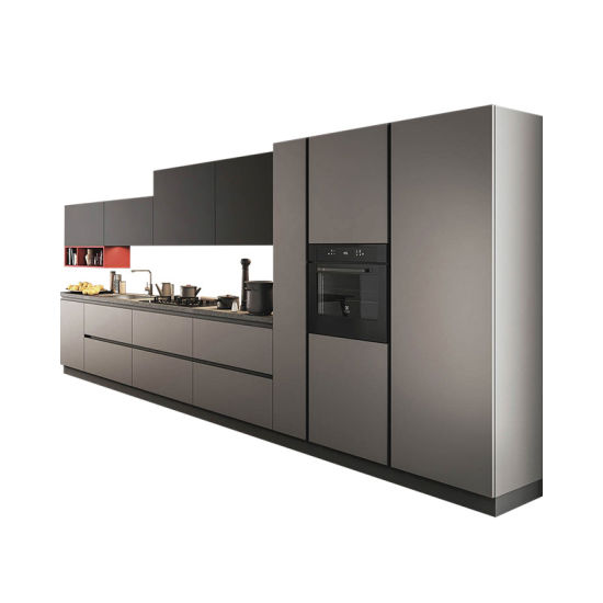 Self Assemble European Style Customized Kitchen Cabinet and Wardrobe
