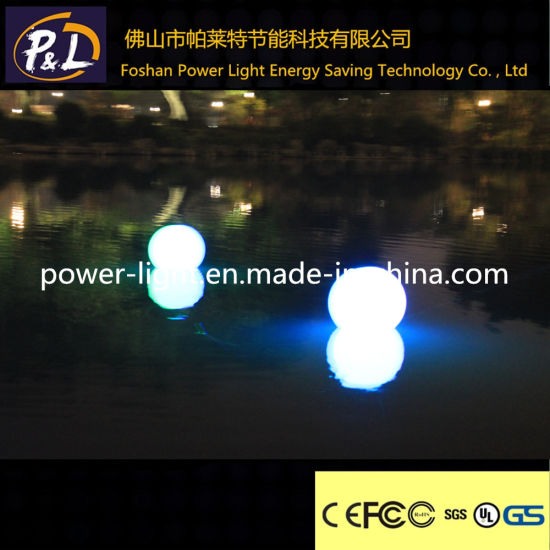 D35cm Decorative Cheap Furniture LED Pool Round Ball pictures & photos