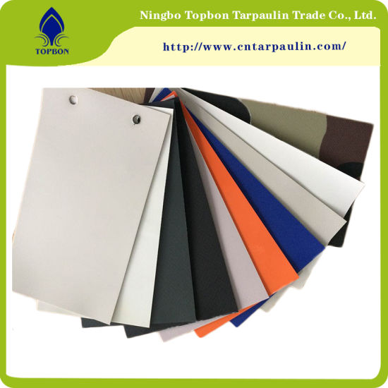 PVC Coated Fabrics Tarpaulin for Truck Cover pictures & photos