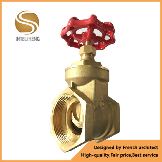 High Quality 200wog Forged Brass Gate Valve with Price pictures & photos