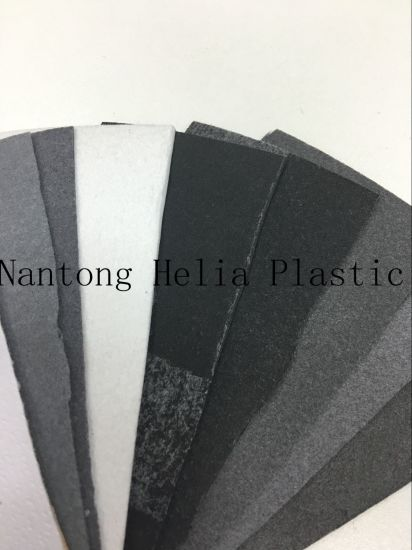 Non Woven Backing Mixed Colors Shoe Use PU Stock Leather pictures & photos