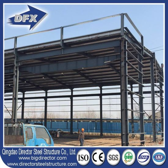 Chinese Famous Metal Frame Prefabricated Steel Structure Warehouse pictures & photos