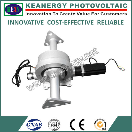 ISO9001/CE/SGS Solar PV System Slewing Drive with Gear Motor pictures & photos