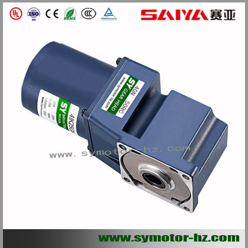 120W AC Motor Matched with Spiral Bevel Hollow Shaft Reducer pictures & photos