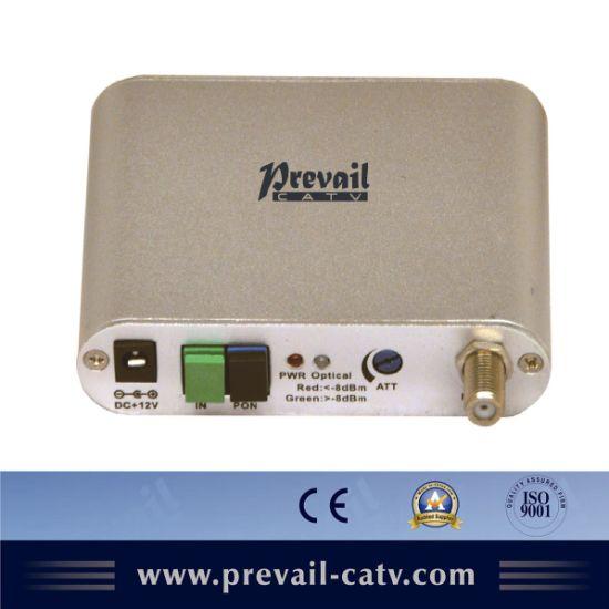 CATV FTTH Mini Optical Receiver (WR1075MB)