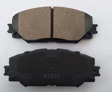 D1210- High Quality No Noise Auto Spare Part Car Accessories D1210 Brake Pad