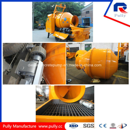 High Quality Electric Hydraulic Concrete Mixer Pump for Sale pictures & photos