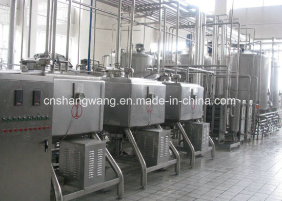 High Quality Dairy Milk Production Line/Plant pictures & photos