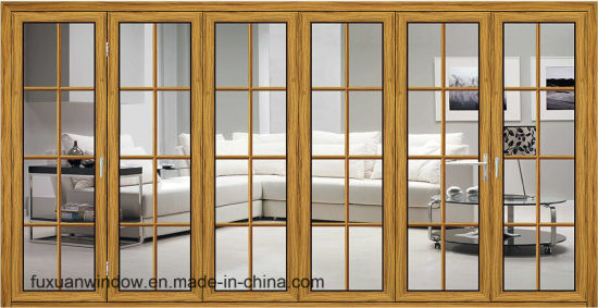China High Quality Aluminum Folding Doors for Balcony with Beautiful ...