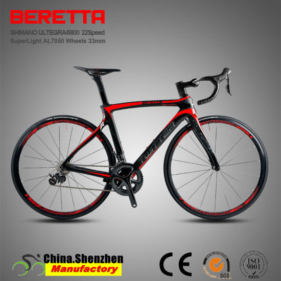 High Quality All Cable Inside Complety Carbon Racing Road Bicycle pictures & photos