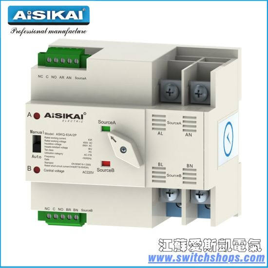 China House Use Low Voltage Switch 6A-63A Ce/CCC - China Automatic ...