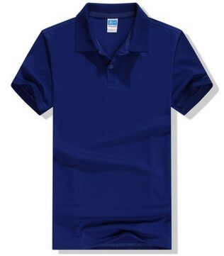 Accepted Different Logos Men′s Short Sleeve Cotton Blend Polo T-Shirt in Various Colors, Sizes and Materials pictures & photos