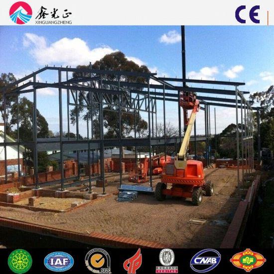 Prefabricated Steel Structure Building Material Steel Workshop (Q345B/Q235B)