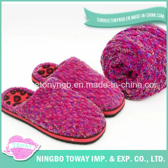 Warm Fashion Knit Boots Woven Shoes Crochet Slippers