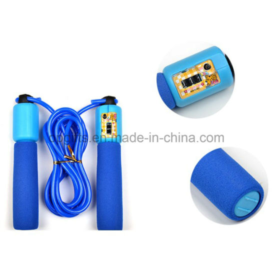 Digital Count Cordless Crossfit Jump Rope / Steel Skipping Rope pictures & photos