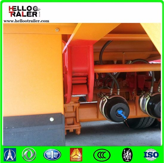 From Trailer Factory Forlow Price 20FT Container Trailer pictures & photos