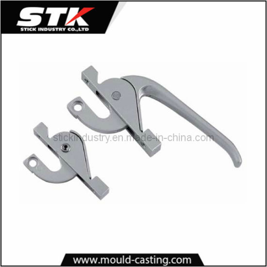 Window Handle by Aluminum Alloy Die Casting with Chrome Plating pictures & photos