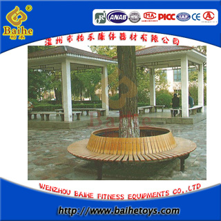 Outdoor Wood Round Tree Bench (BHD 17405)