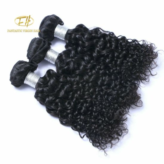 100% Brazilian Human Hair Extension In 1b Color