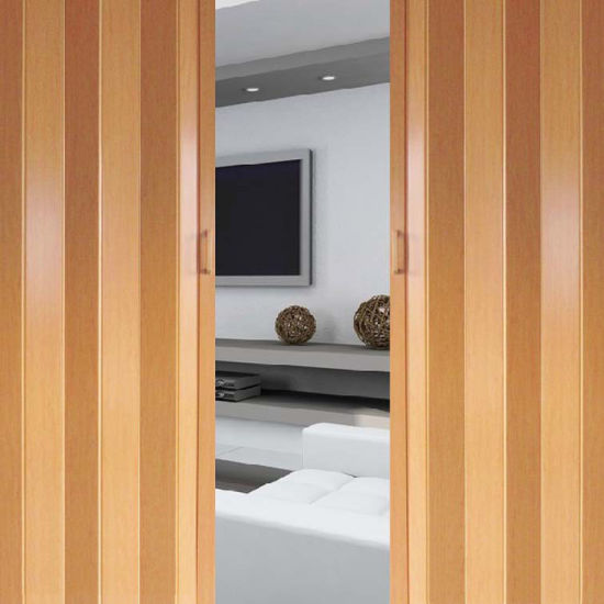 China Nice Design PVC Sliding Folding Door - China PVC Folding Door ...