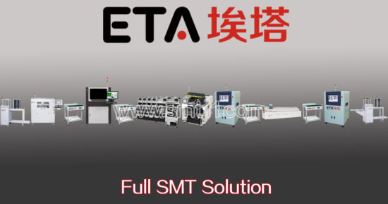 PCBA Production Line Solution (SMT printer+SMT pick and place machine+reflow oven) pictures & photos