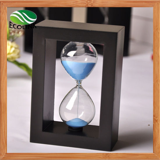 china new designer 3 mins 10mins timer hourglass for decoration
