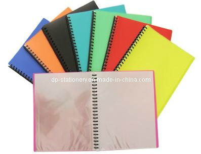 A4 Ring File Folder/ Ring Clear Book (F2009) pictures & photos