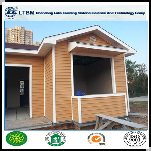 Wood Grain Siding Panel Fiber Cement Board for Decoration