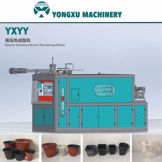 Yxyy650 Hydraulic Structure Flower Pot Making Machine/Disposable Cup Making Machine/Cup Forming Machine/Plastic Thermoforming Machine/Plastic Cup Machine pictures & photos