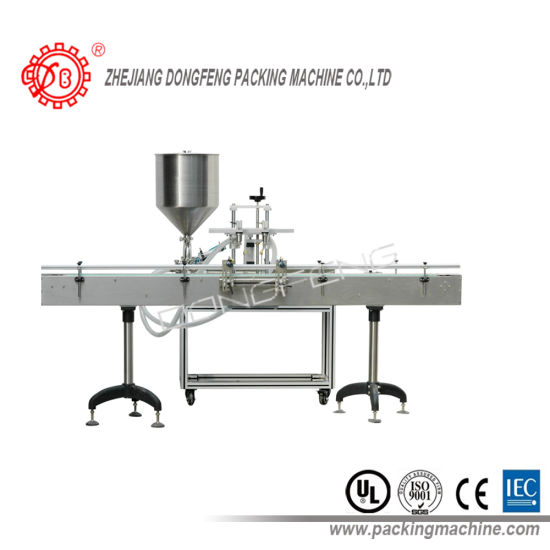 Double Nozzle Paste Filling Machine (DPF-2-S) pictures & photos