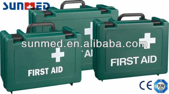 Plastic First Aid Box, First Aid Box, Medical Case