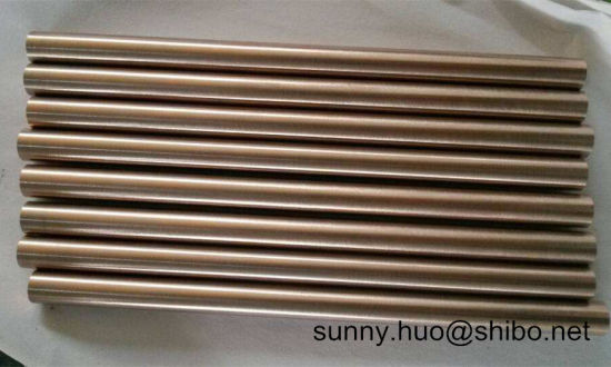 Tungsten-Copper Alloy Rod, Wcu Round Bar, Wolframecopper Rod pictures & photos