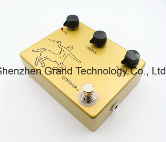 Replica Gold Professional Overdrive Klon Centaur Guitar Effect Pedal (JF-63) pictures & photos