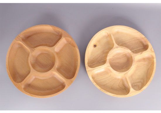 Customized Compote Wooden Dry Fruit Tray