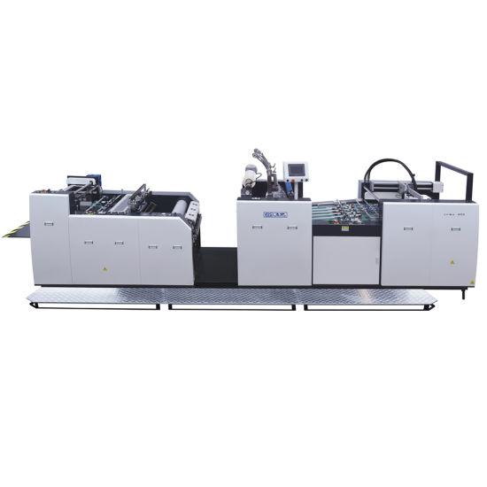 Automatic Cardboard Carton Box Paperboard Aluminum Foil Plastic Flatbed Printer Cutting Coating Gluing Embossing Thermal Film Paper Bag Laminating Machine