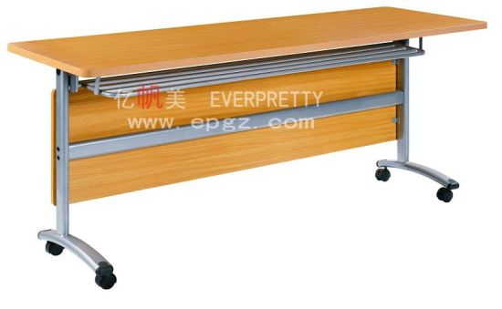 Library Furniture Student Movable Double Reading Table
