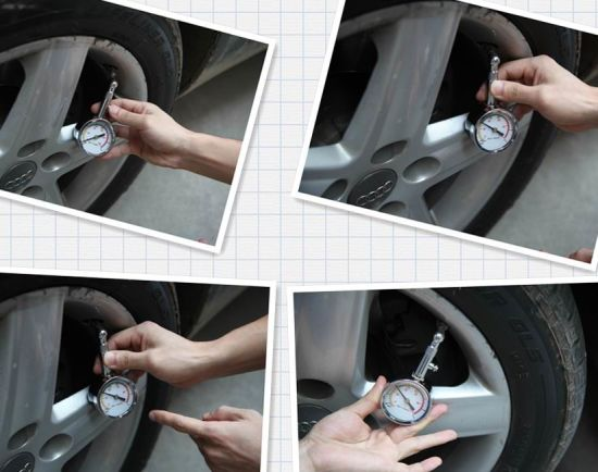 New Design Eco-Friendly Car Tire Pressure Gauge pictures & photos