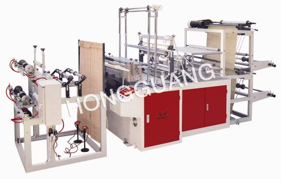 Computer Cutting-off Continuous-Rolled Bag Making Machine pictures & photos