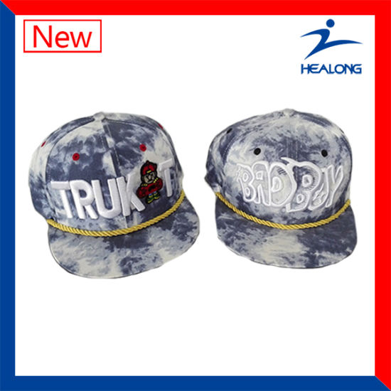 Healong Cool Design Sports Clothing Gear Embroidery Logo Sublimation Baseball Hats pictures & photos
