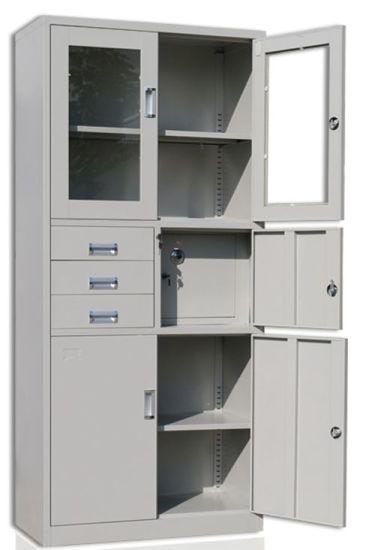 6-Door 3-Drawer Steel Metal Locker for Gym and School and Office/Shelf