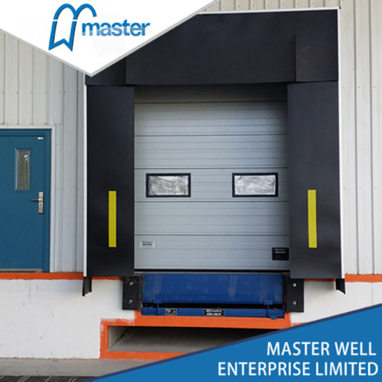 Automatic Security Mechanical Dock Seal/Dock Shelter for Industrial Door