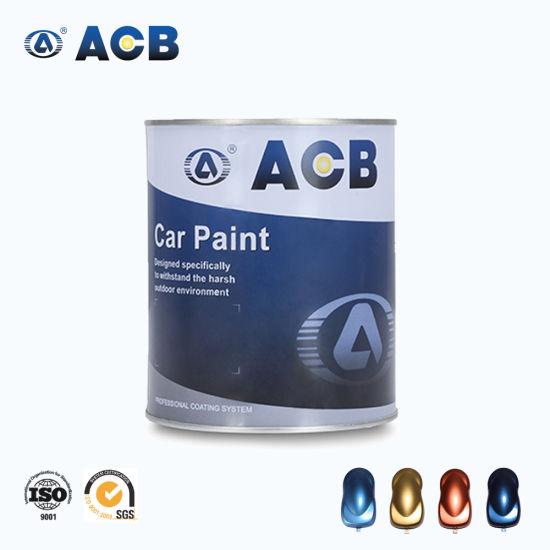 Acb Acrylic Auto Spray Coating 1K Color Coat
