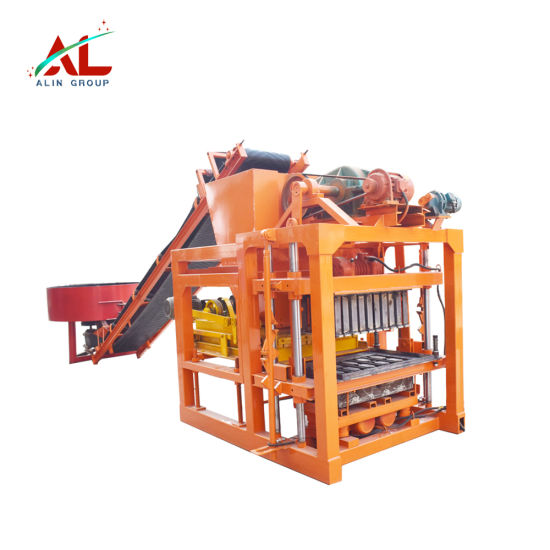 Semi-Automatic Concrete Hollow Concrete Cement Brick / Block Making Machine Wholesale Price