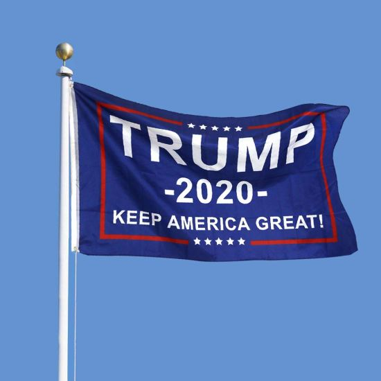 3X5 Feet Donald Trump Flag - Trump 2020 Keep America Great! - Make America Great Again - Indoors Outdoors Banner pictures & photos